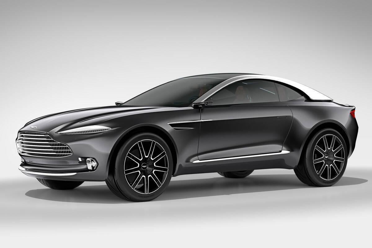 Концептуальный кроссовер Aston Martin DBX дебютировал в 2015 году на автошоу в Женеве. Фото: