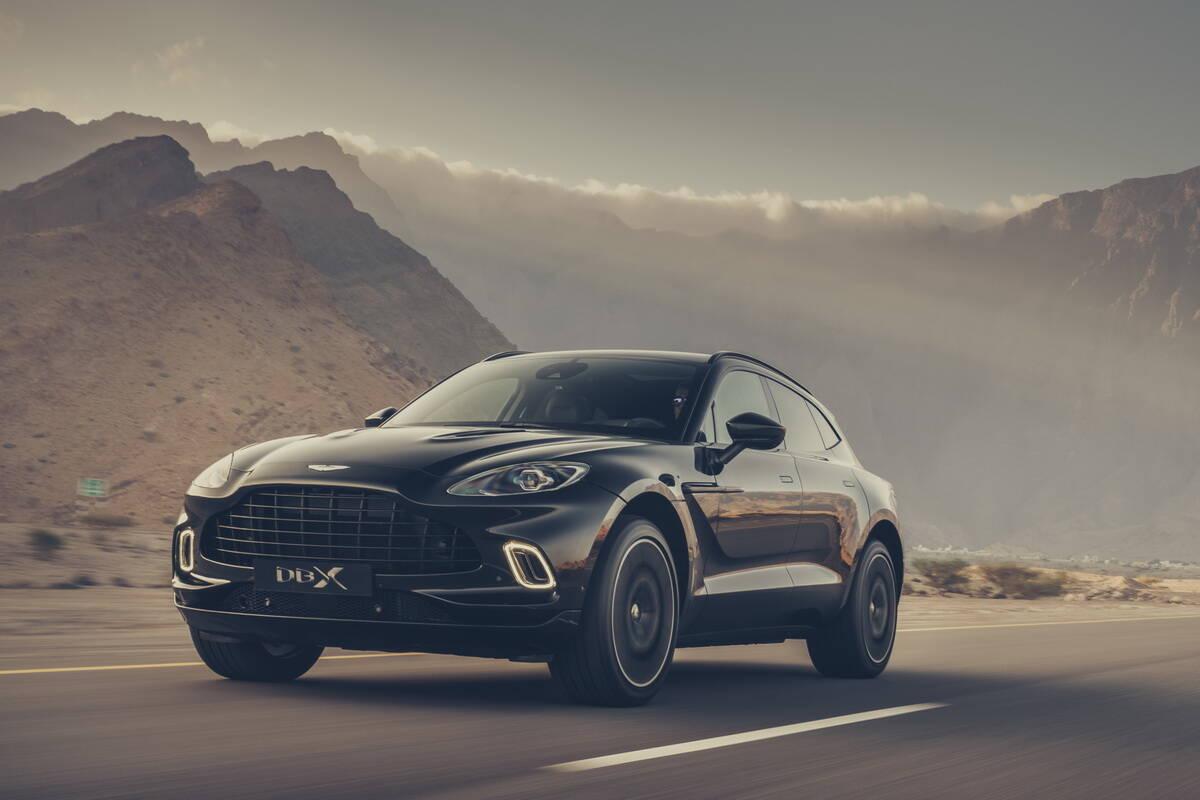 2021 Aston Martin DBX. Фото:
