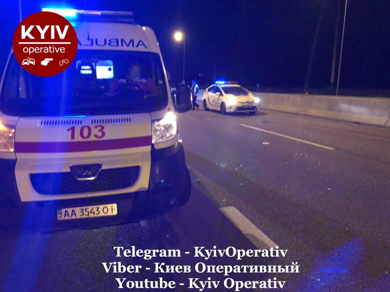 На Київщині копа звинуватили у п'яному ДТП