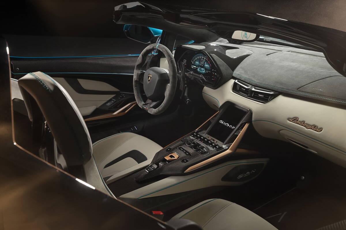 2021 Lamborghini Sian Roadster. фото: