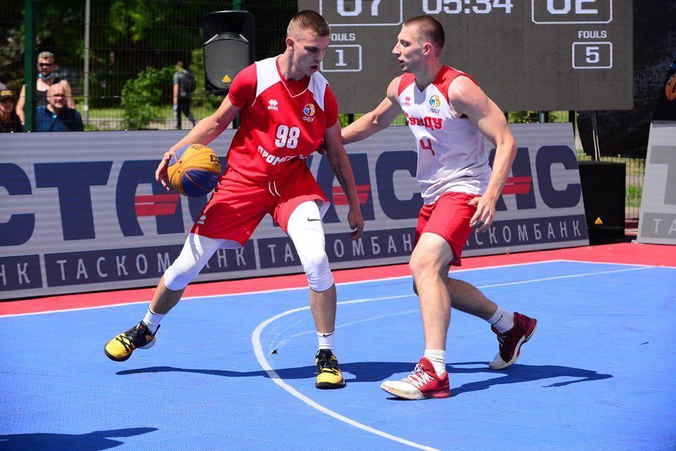 Визначилися переможці 3-го етапу чемпіонату України з баскетболу 3х3