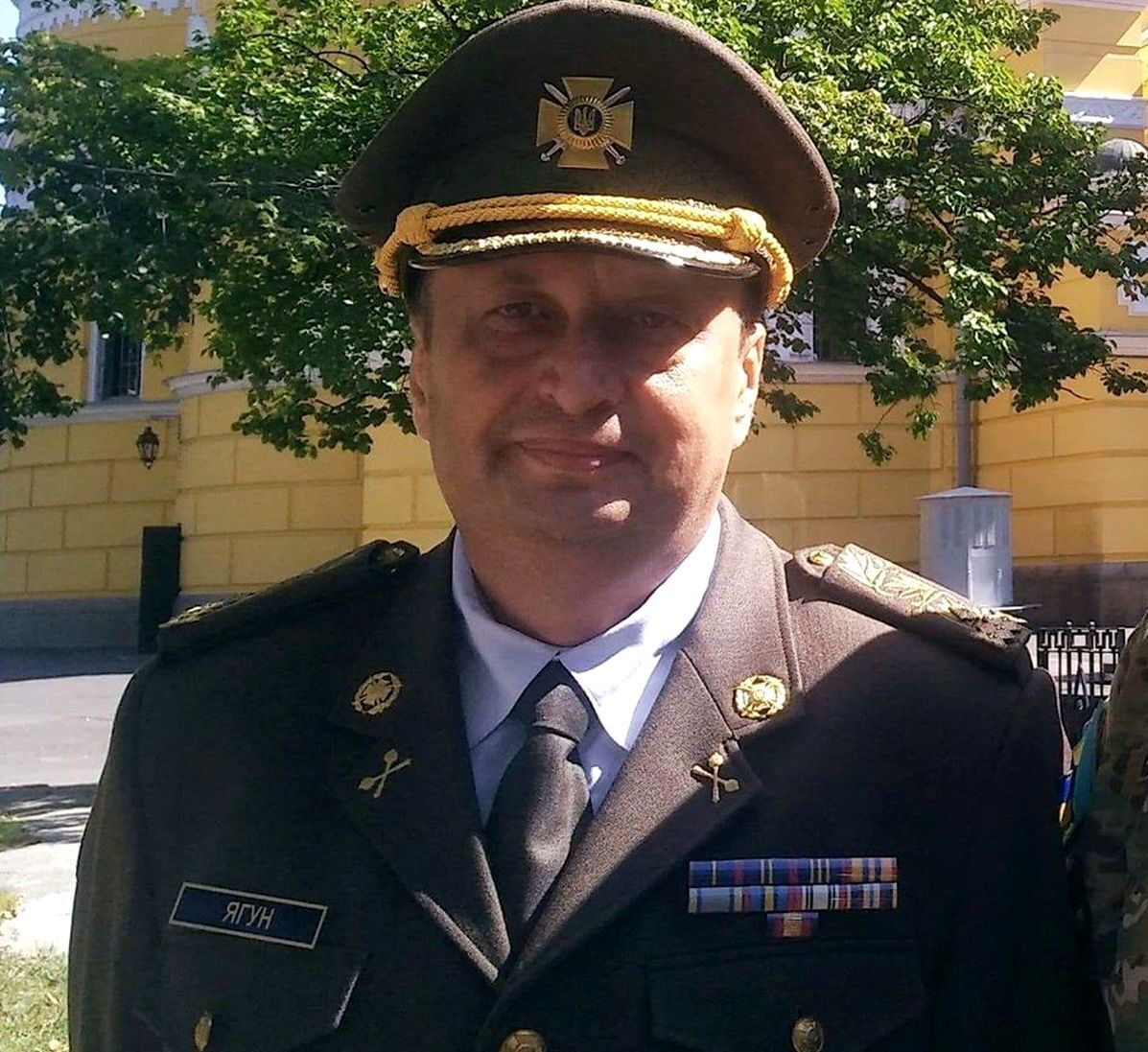 Ексзаступник голови СБУ, генерал-майор Віктор Ягун