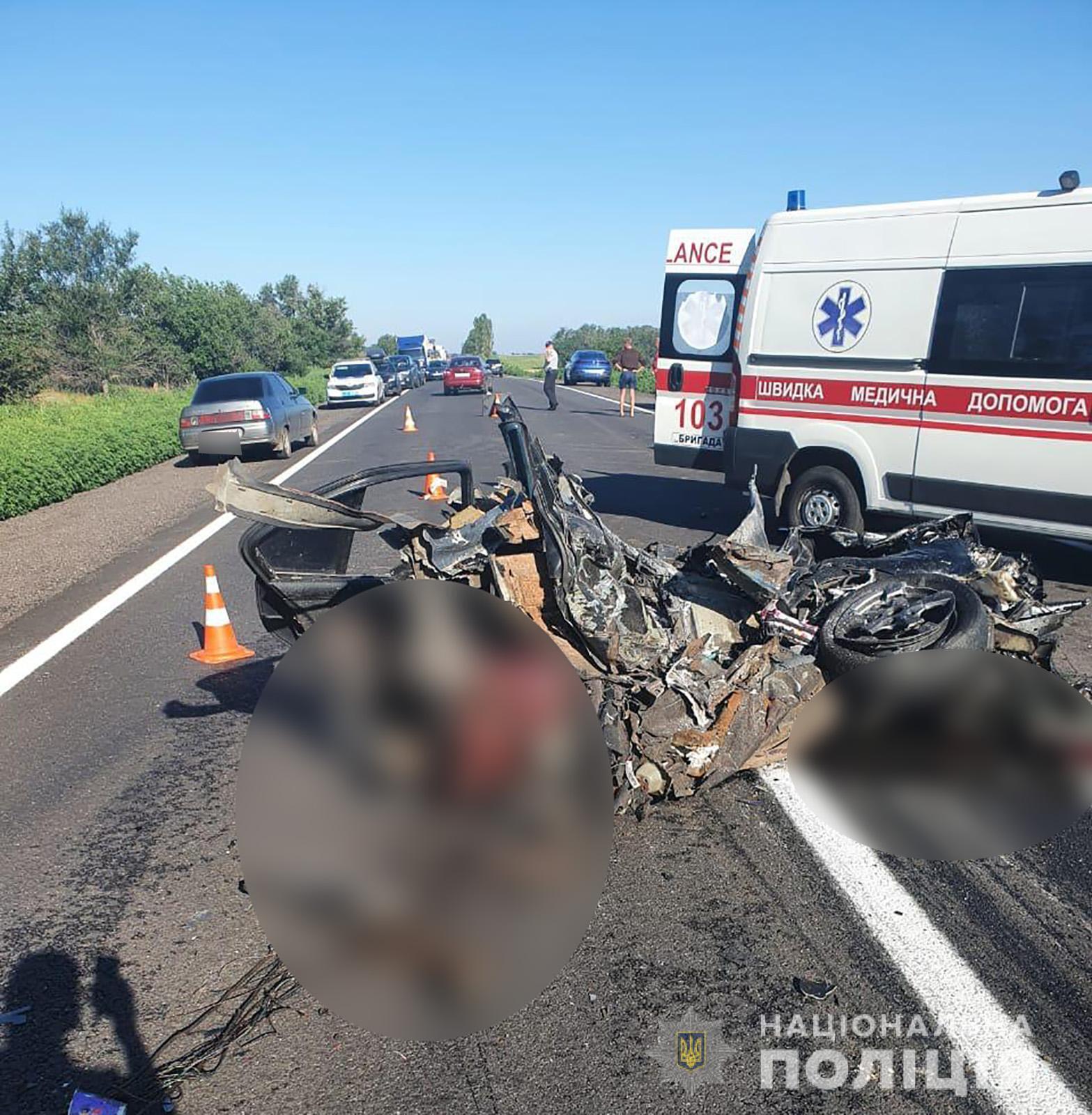 В ДТП на Запорожье погибли 4 человека