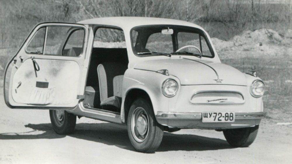 Оригинальный ЗАЗ-965 в разных модификациях выпускали с 1960 по 1969 годы.