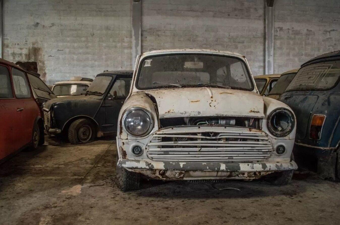 Все Mini на складе пребывают в плохом состоянии.