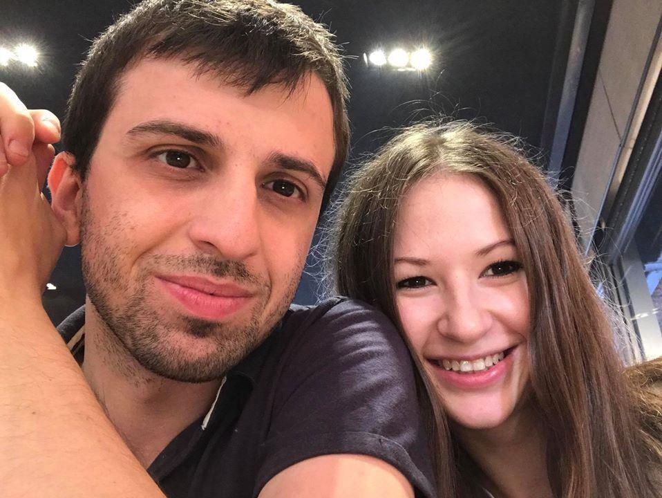 Вільям зі своєю дівчиною
