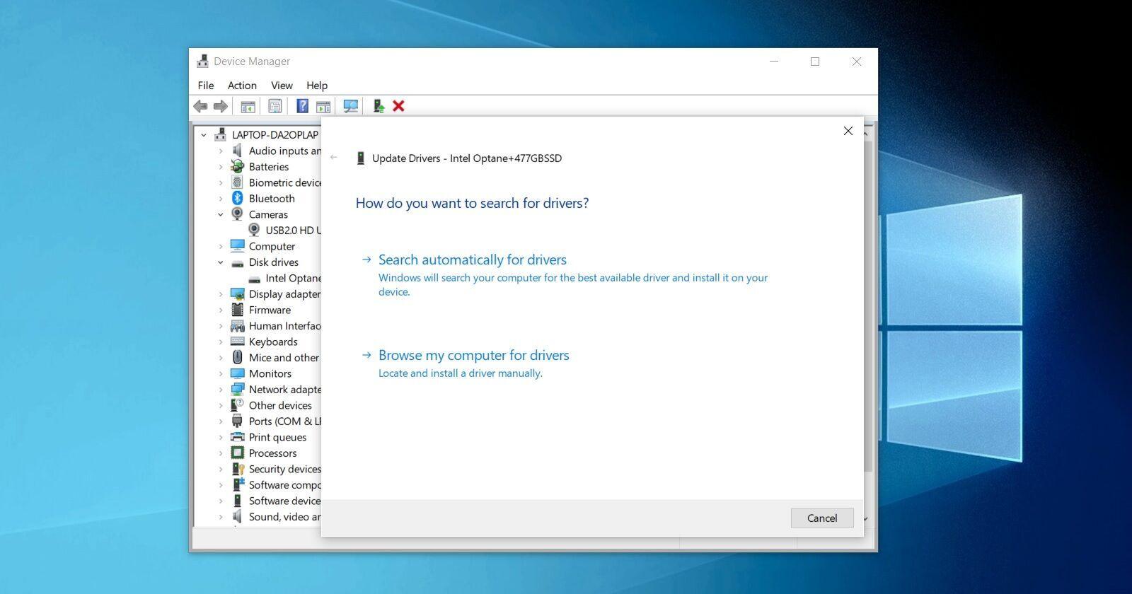 У Windows 10 прибрали функцію автоматичного оновлення драйверів через інтернет