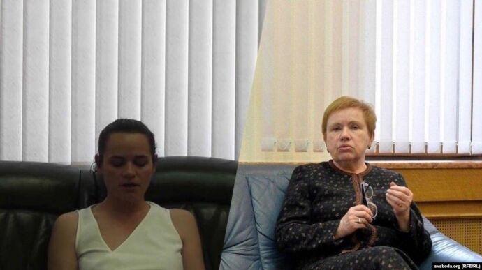 Тихановская могла записать видеообращение в кабинете главы ЦИК