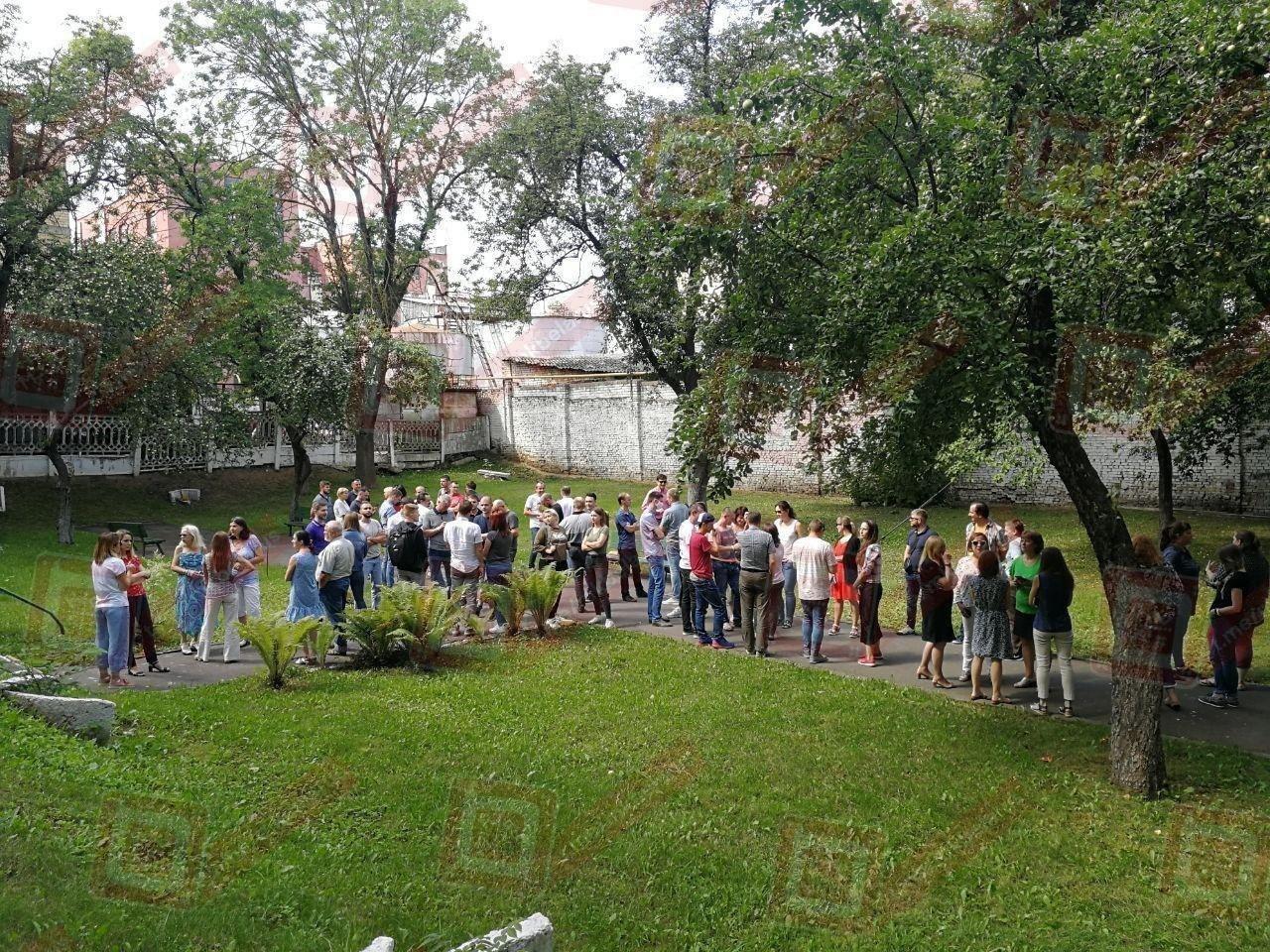 Забастовка рабочих в Беларуси
