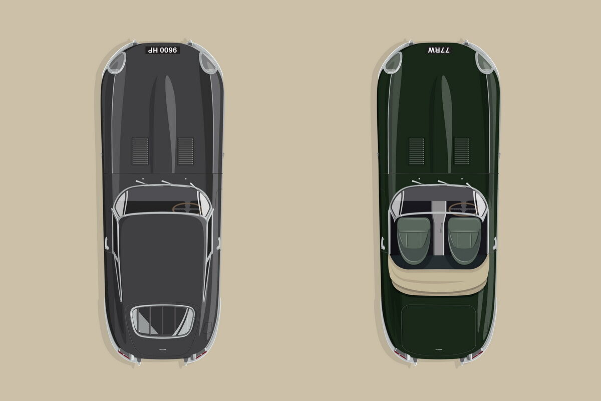 Jaguar E-type 60 Edition. фото: