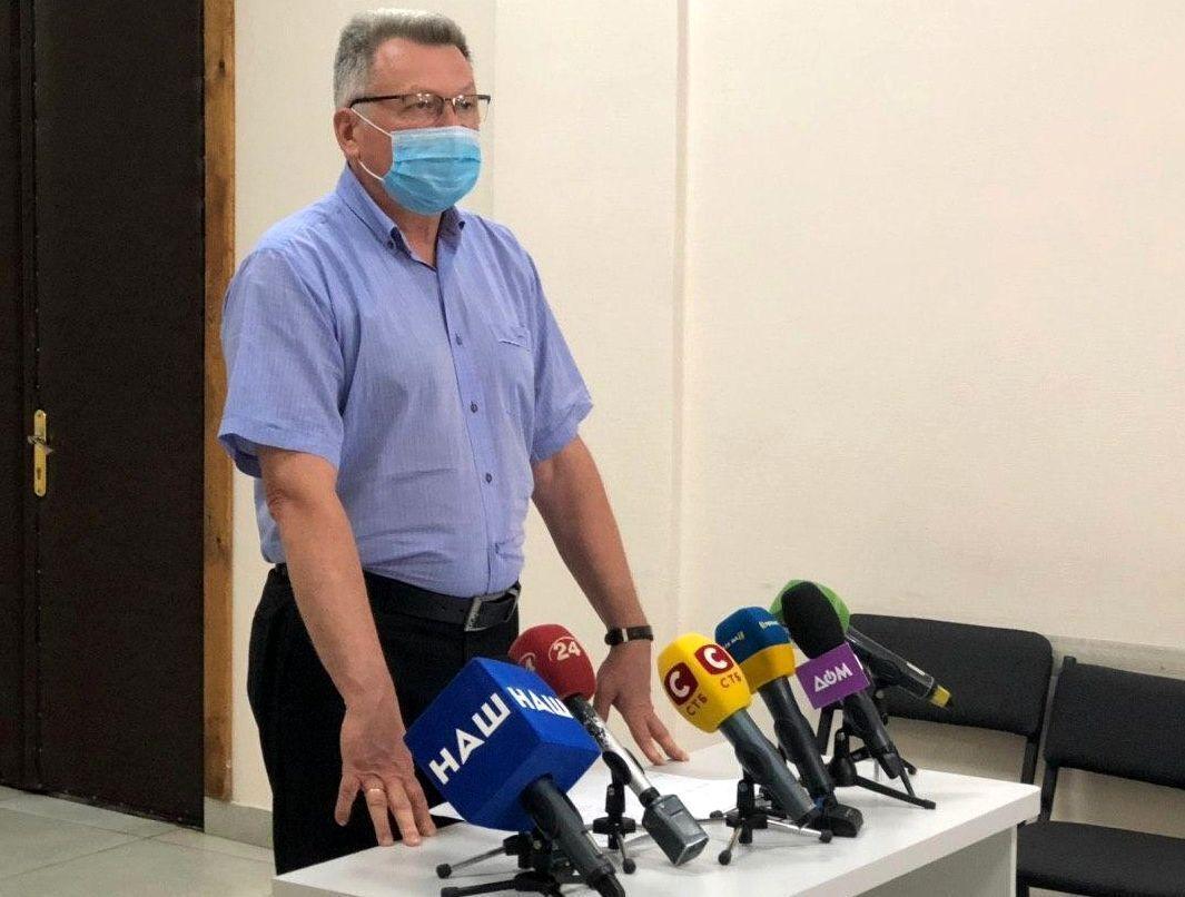 Заступник директора Департаменту охорони здоров'я ХОДА Геннадій Бондарчук.