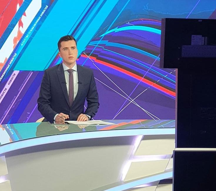"""Телеведучий державного каналу Білорусі """"АТН"""" Сергій Козлович заявив про звільнення на фоні протестів в країні"""