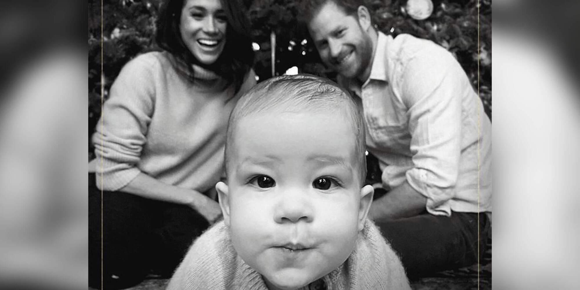 Гарри и Меган с сыном Арчи