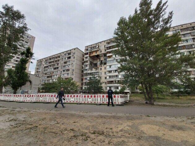 У Києві на Позняках у червні трапився вибух будинку