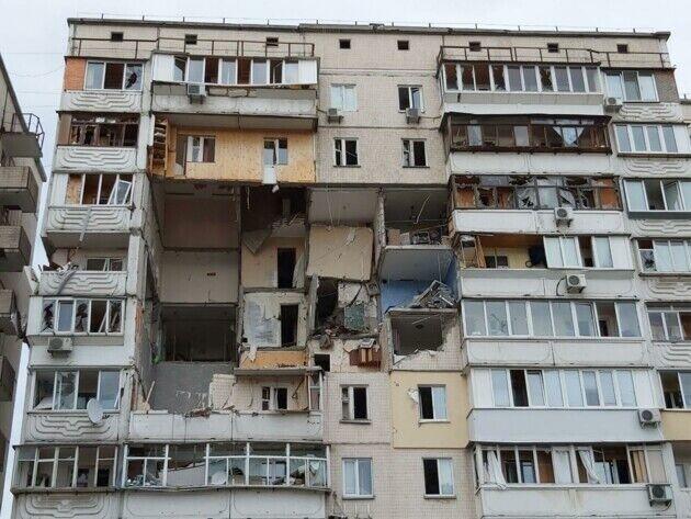 Будинок, який вибухнув у Києві на Позняках, демонтують