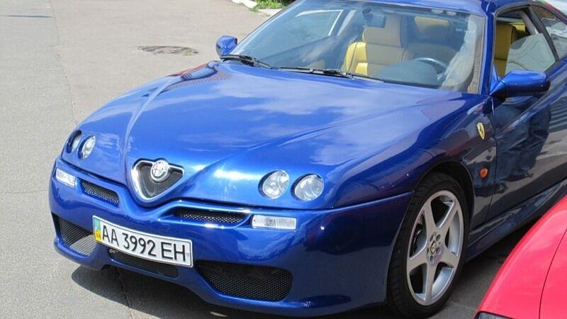 Alfa Romeo Coupe.
