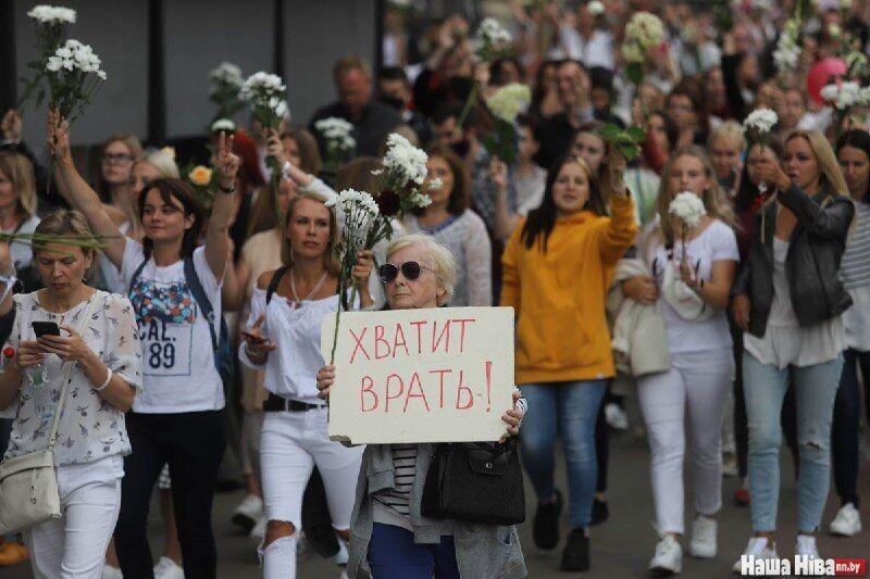 Белорусы выступили против фальсификации на выборах
