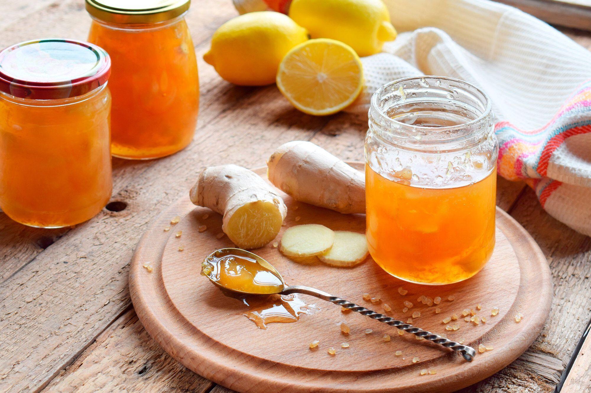 Лимонне варення з медом