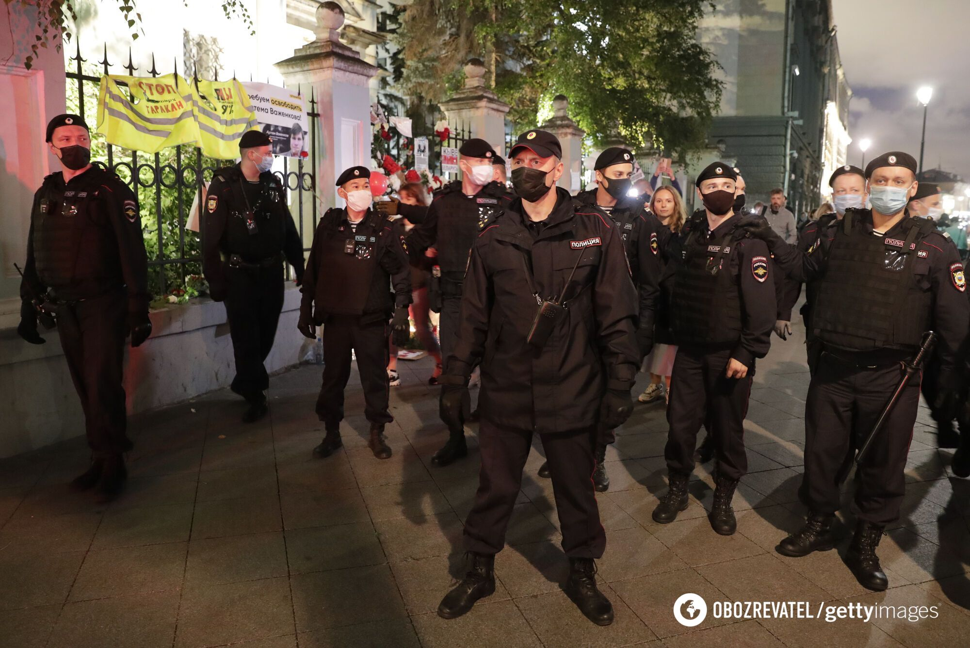 Протесты в Беларуси 12 августа