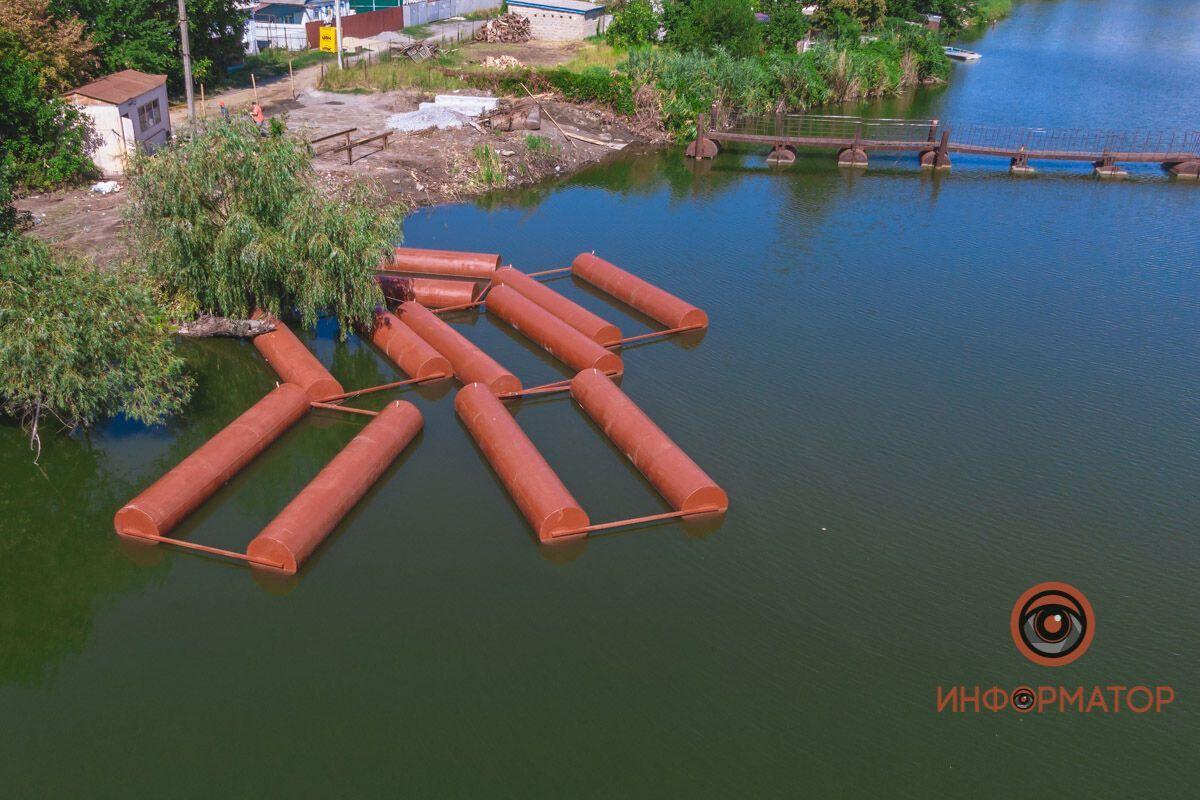 В Днепре начали строительство нового моста
