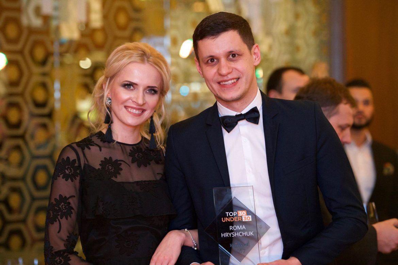 Роман Грищук і Анна Гресь.