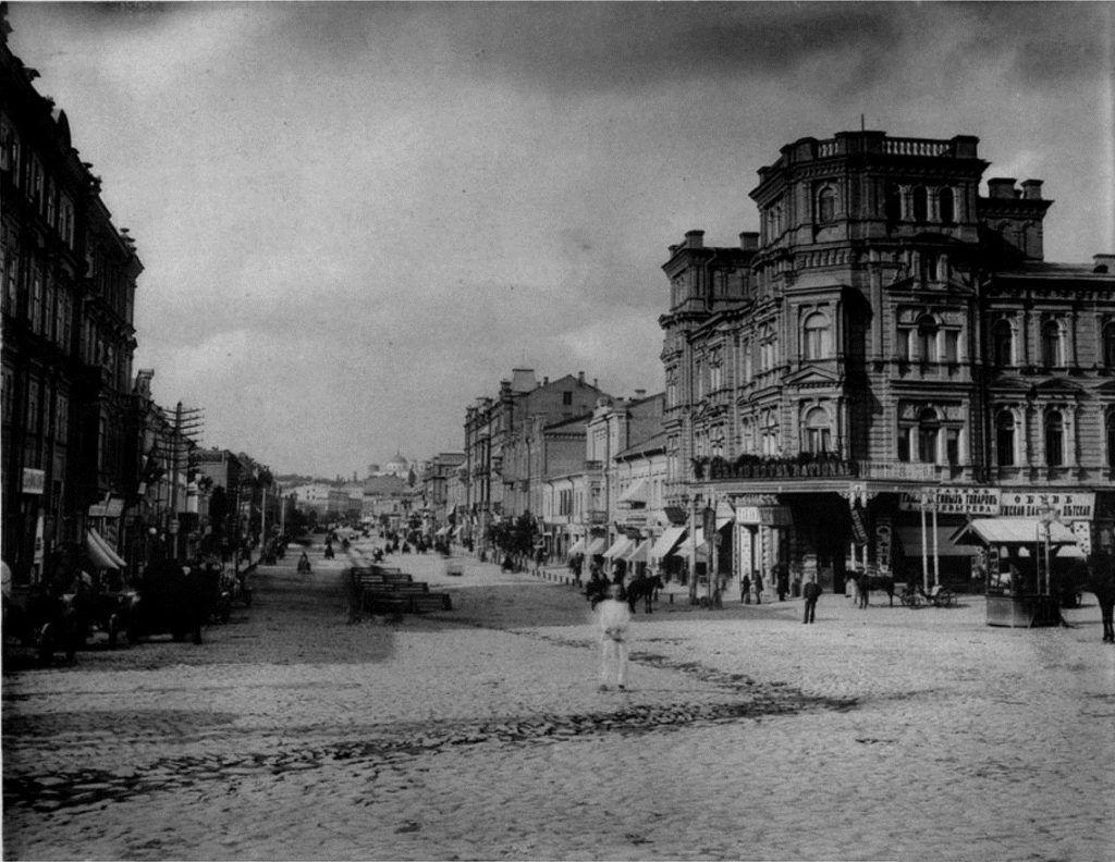 Киев в 1880-х годах