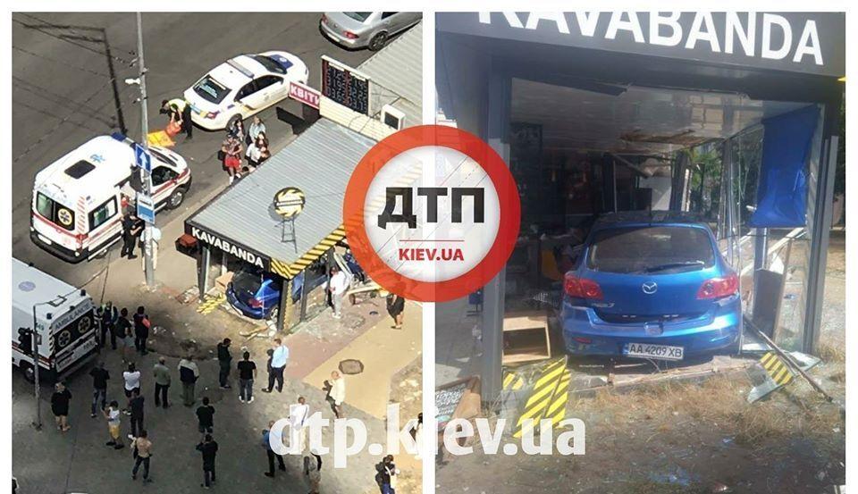 В Киеве в результате ДТП пострадали два человека
