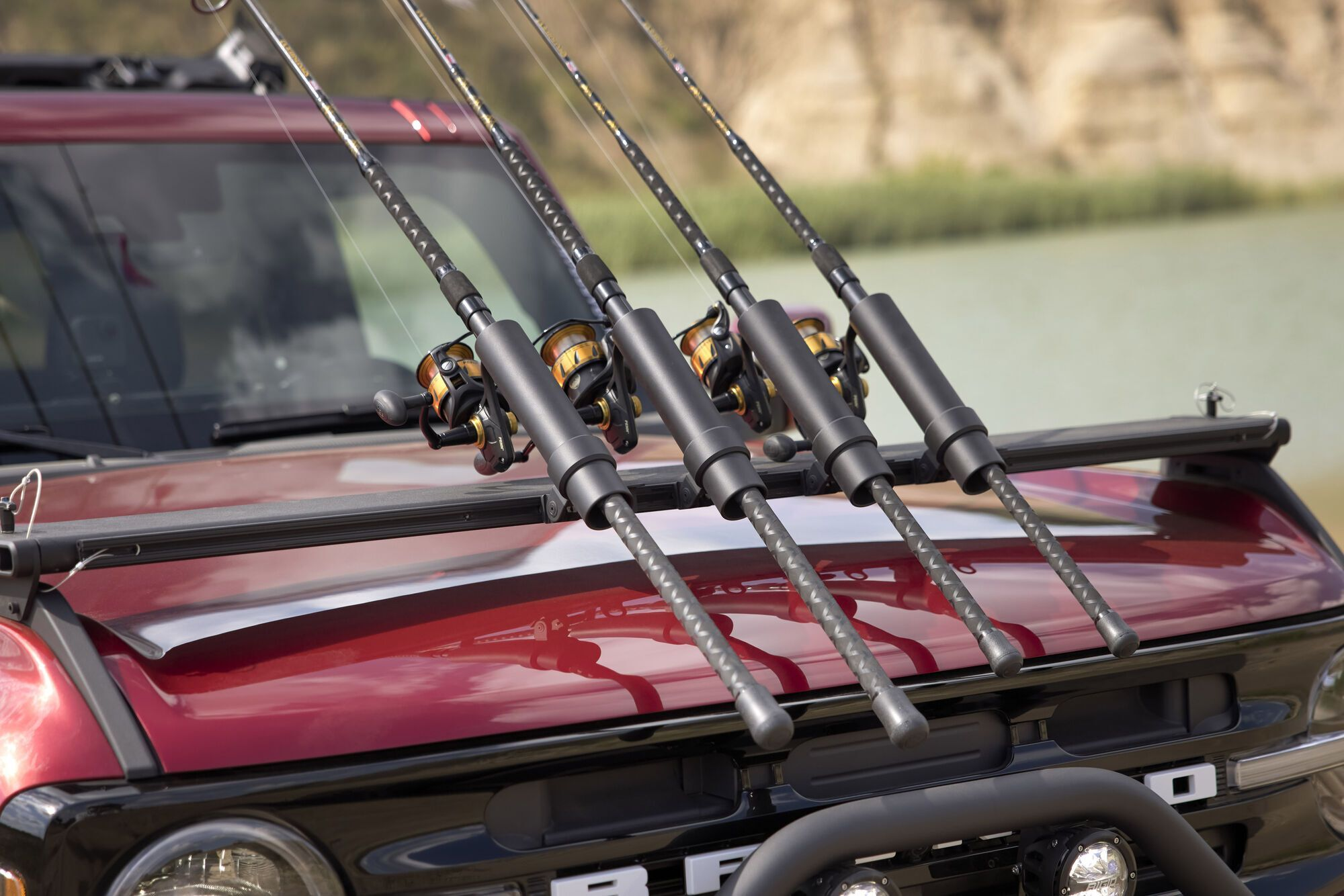 Ford Bronco Outer Banks Fishing Guide. Фото: