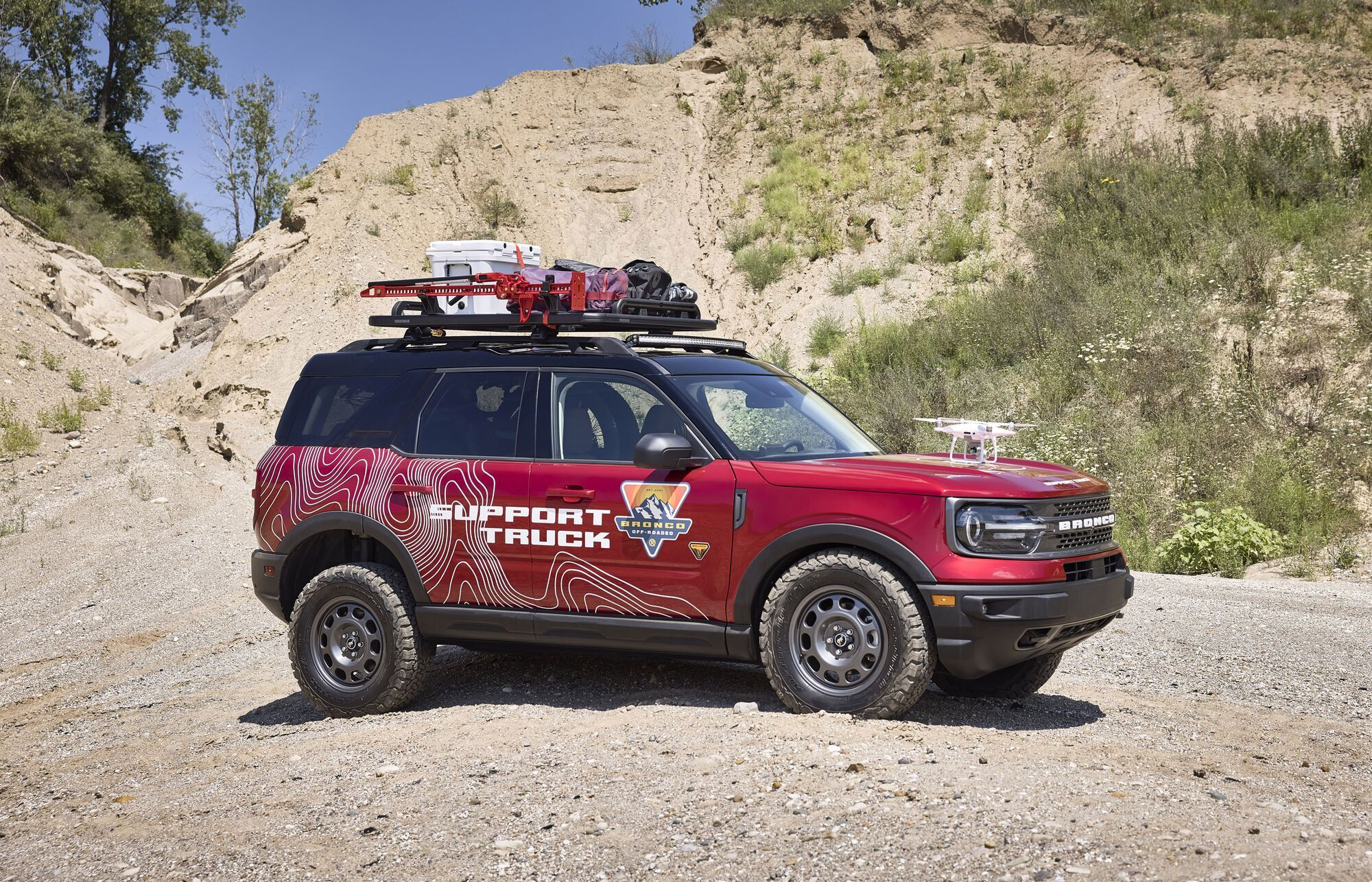 Ford Bronco Sport Off-Roadeo Adventure Patrol. Фото: