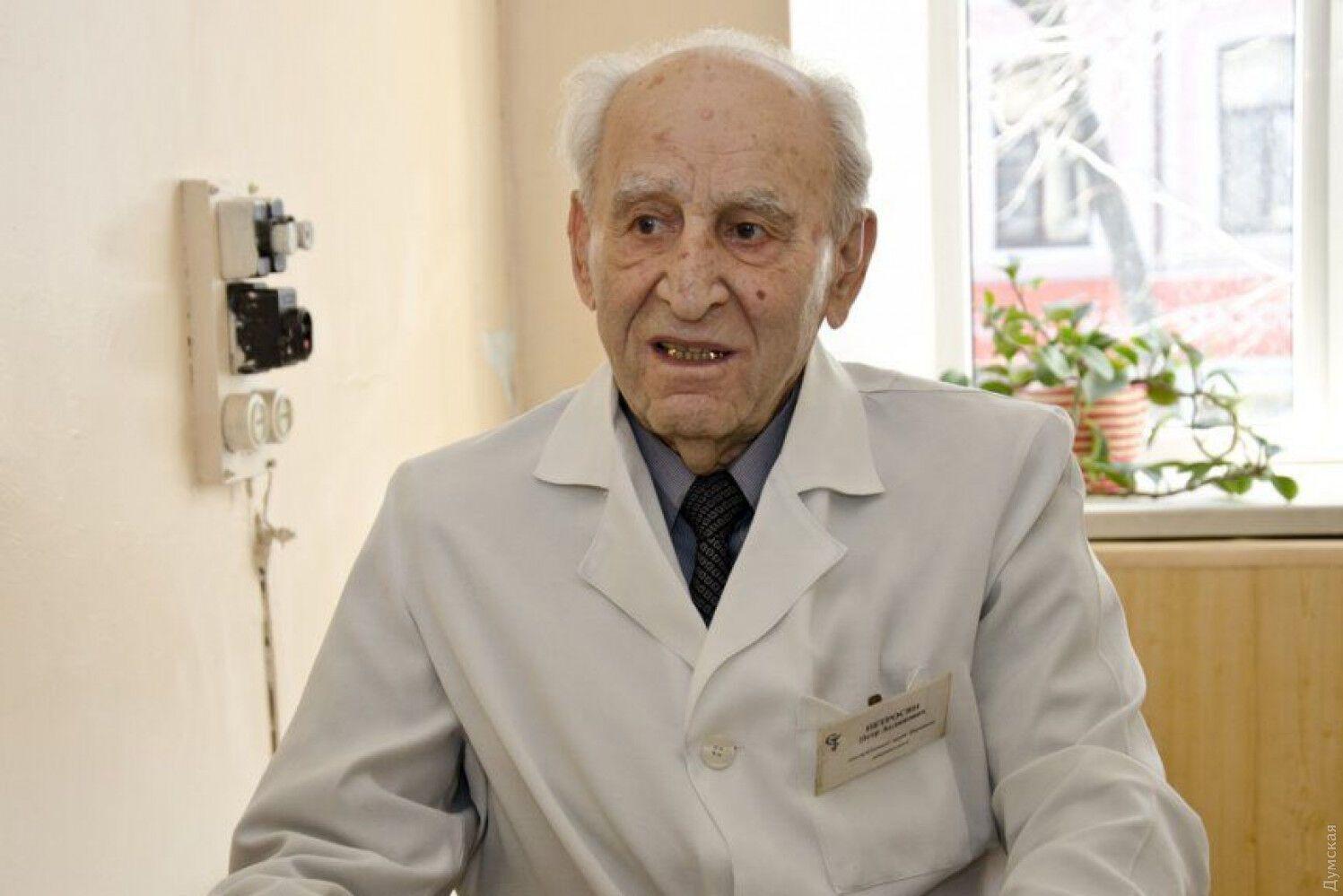 Петр Петросян проработал 78 лет