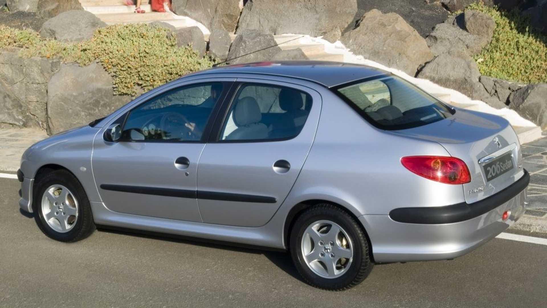 Peugeot 206 Sedan.