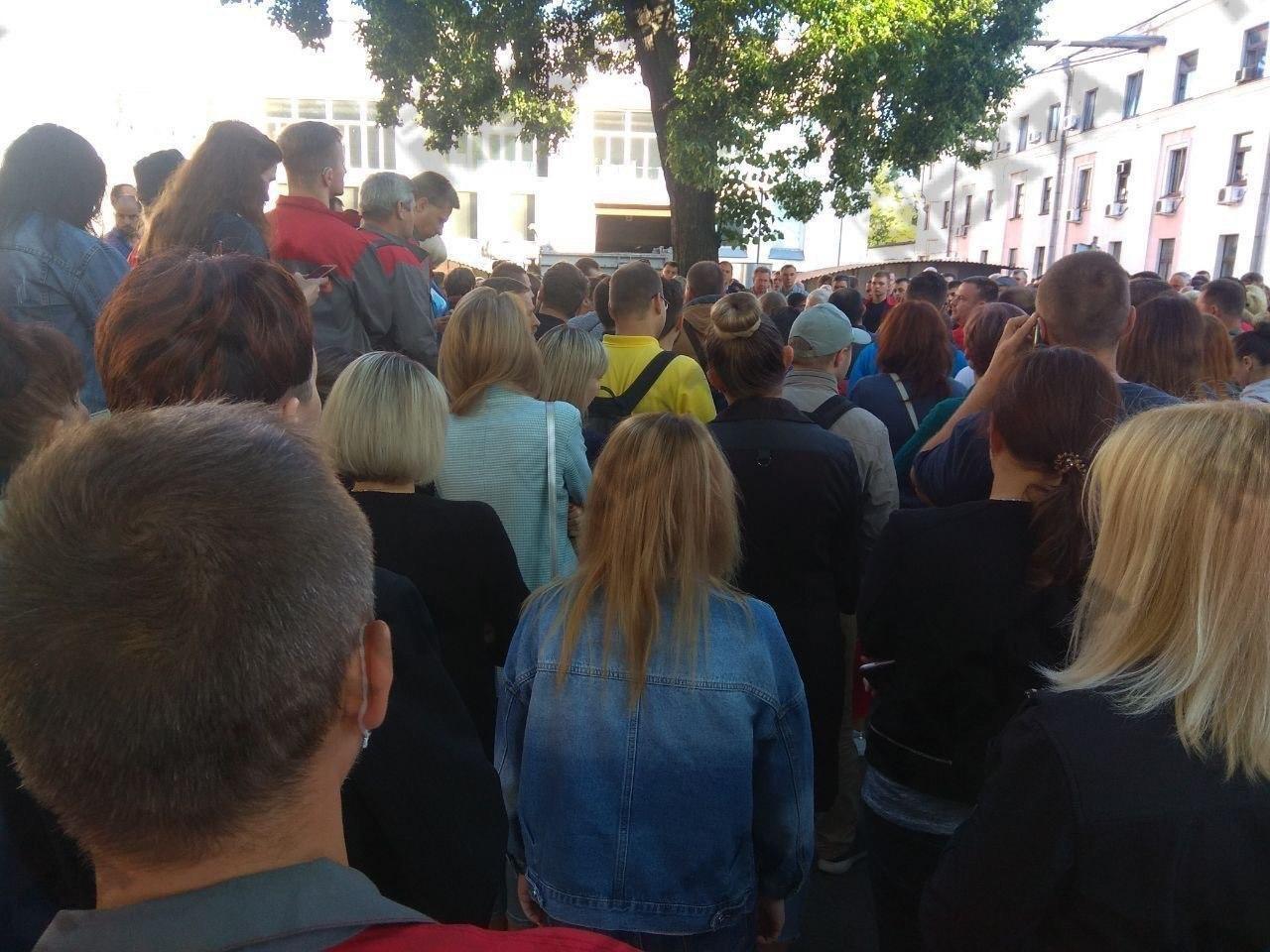 Это уже шестой день протестов в Беларуси