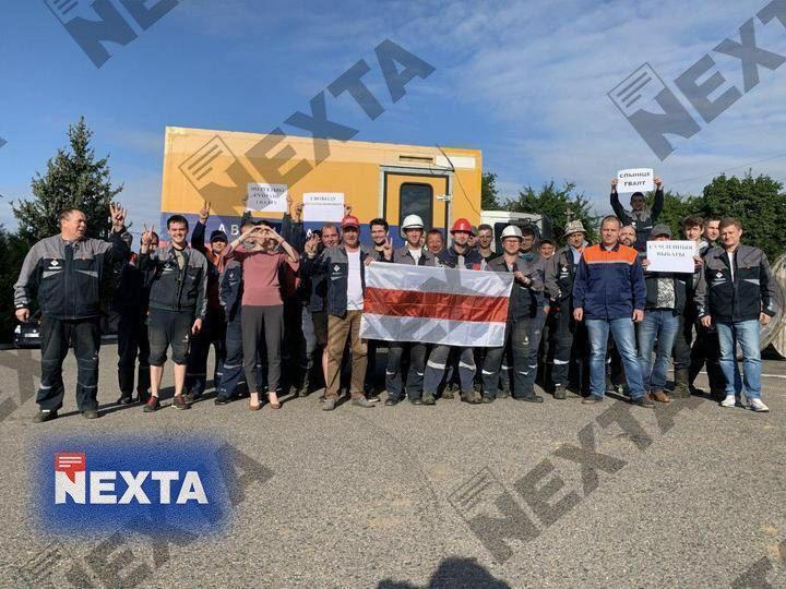 Протесты в Беларуси 14 августа