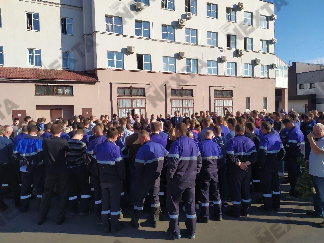 Протесты в Беларуси продолжаются