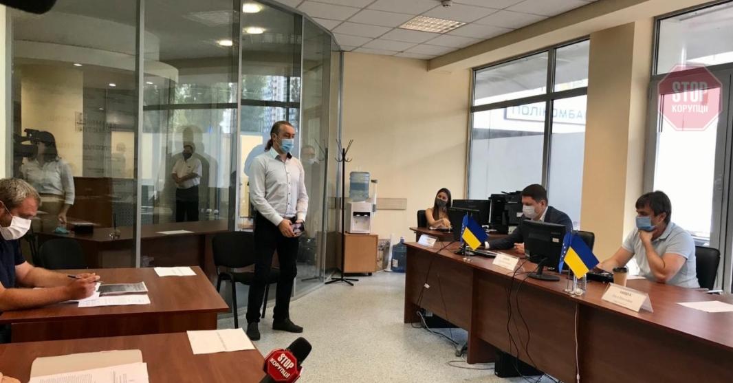 Депутат Киевсовета Мирошниченко выступает на коллегиуме