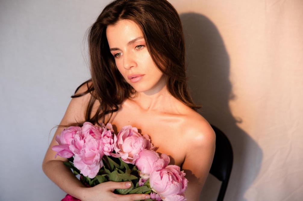 Кристина Соловий снялась в откровенной фотосессии