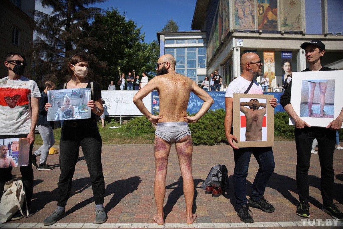 Протест художников в Минске