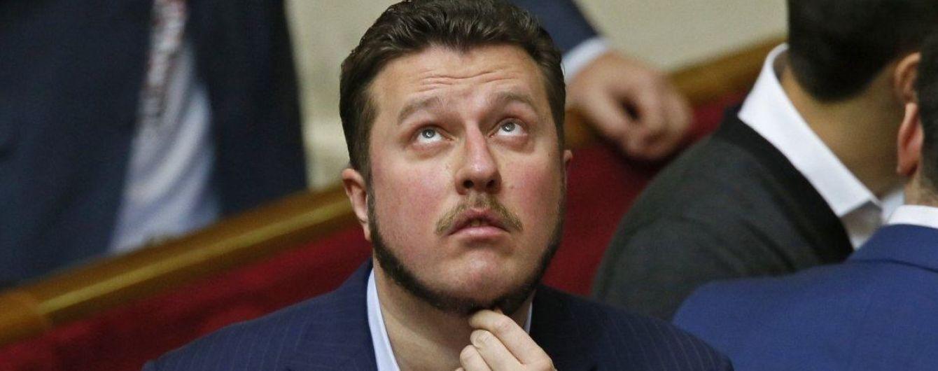 Народний депутат Антон Яценко.
