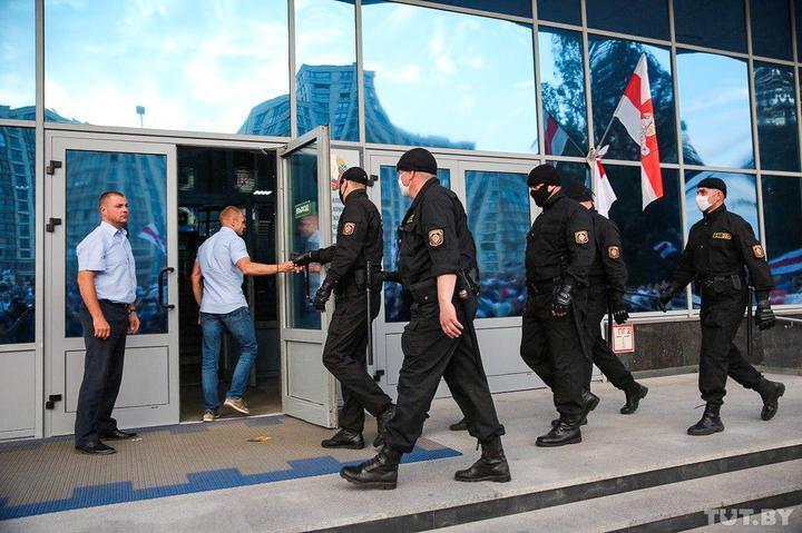 В Белтелерадиокомпании объявили о забастовке. Фото - tut.by
