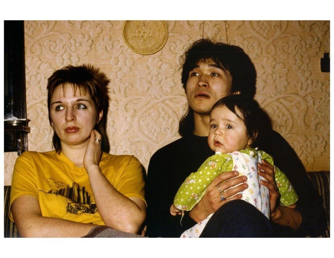 Виктор Цой с женой Марьяной
