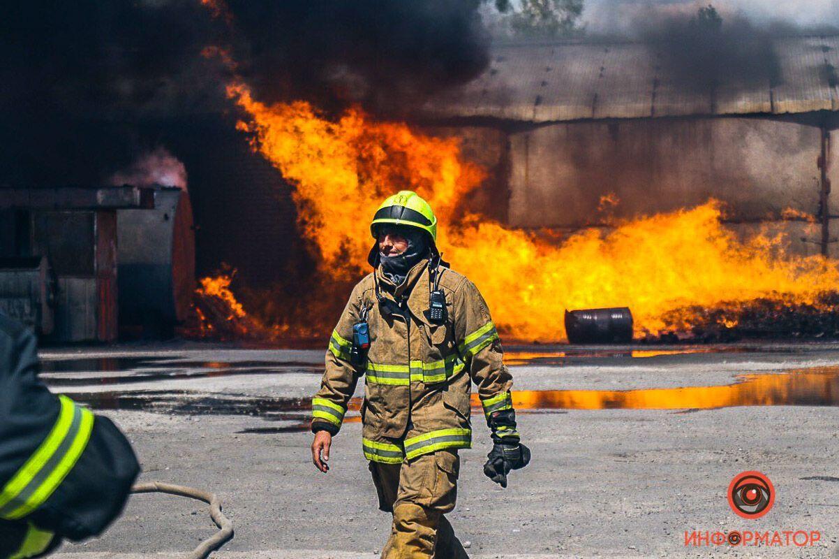 Площа пожежі поки невідома