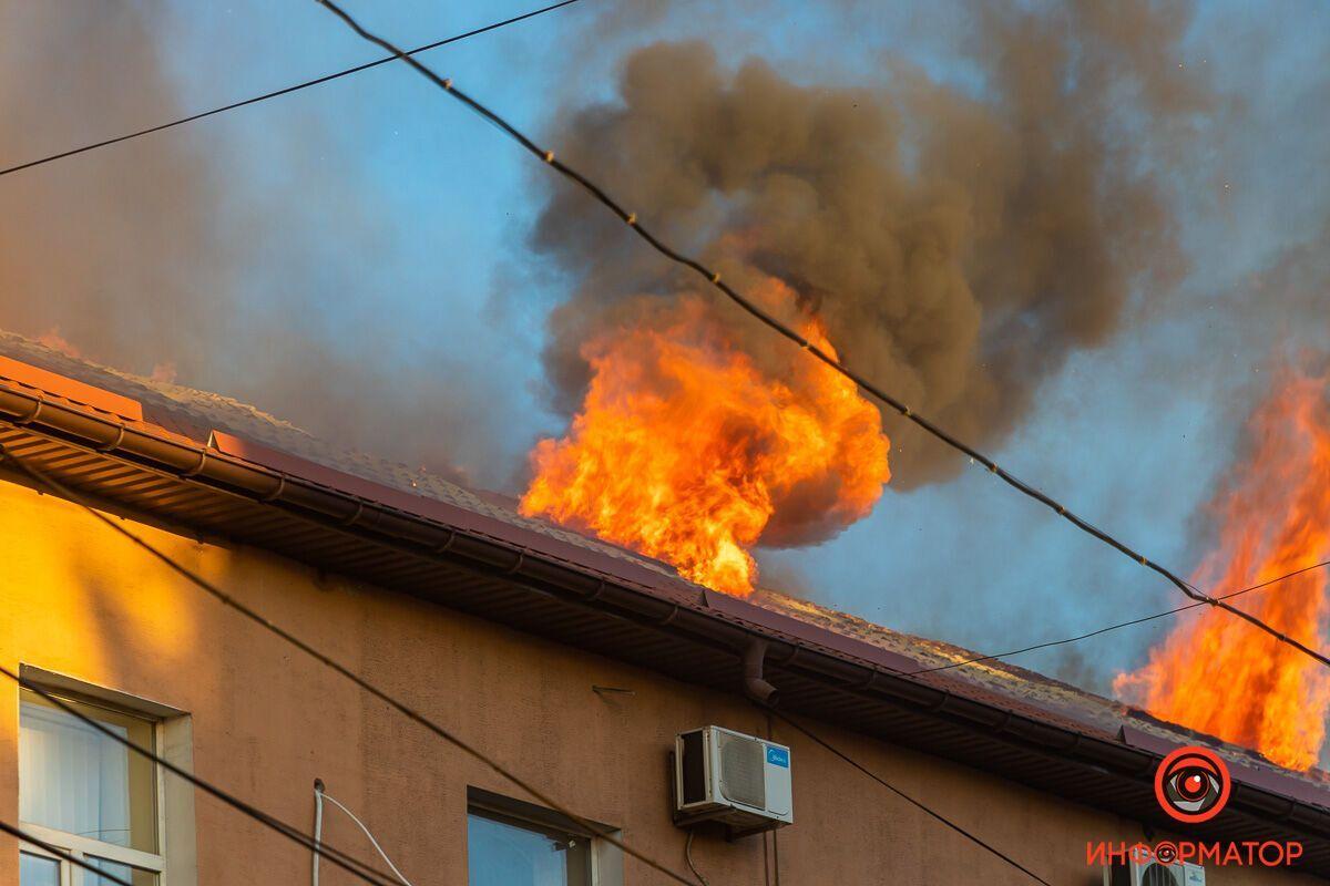 Вогонь поширювався дуже швидко