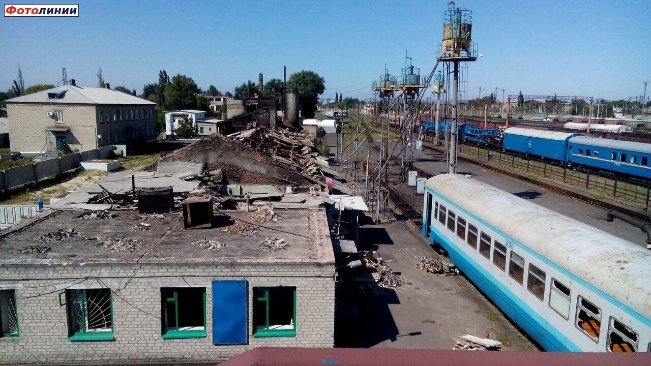 """Бійці """"Миротворця"""" утримували локомотивне депо в Іловайську 5 діб"""