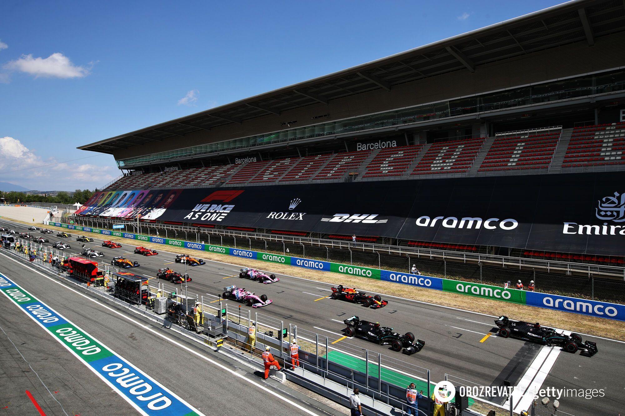 Стартова решітка Гран-прі Іспанії