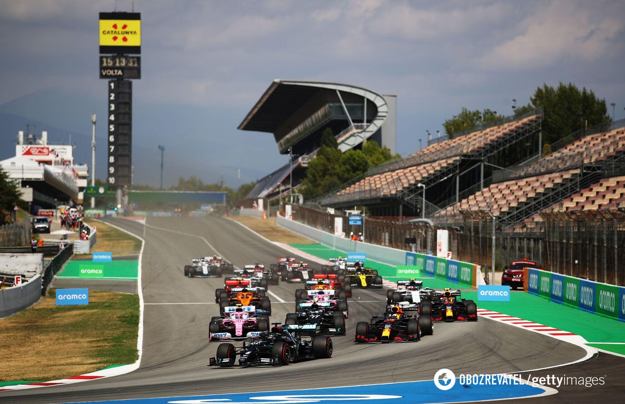 Старт Гран-прі Іспанії