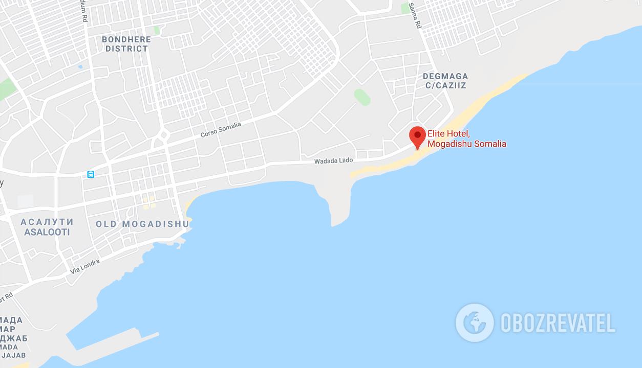У Сомалі бойовики атакували готель: 10 жертв, понад 30 поранених