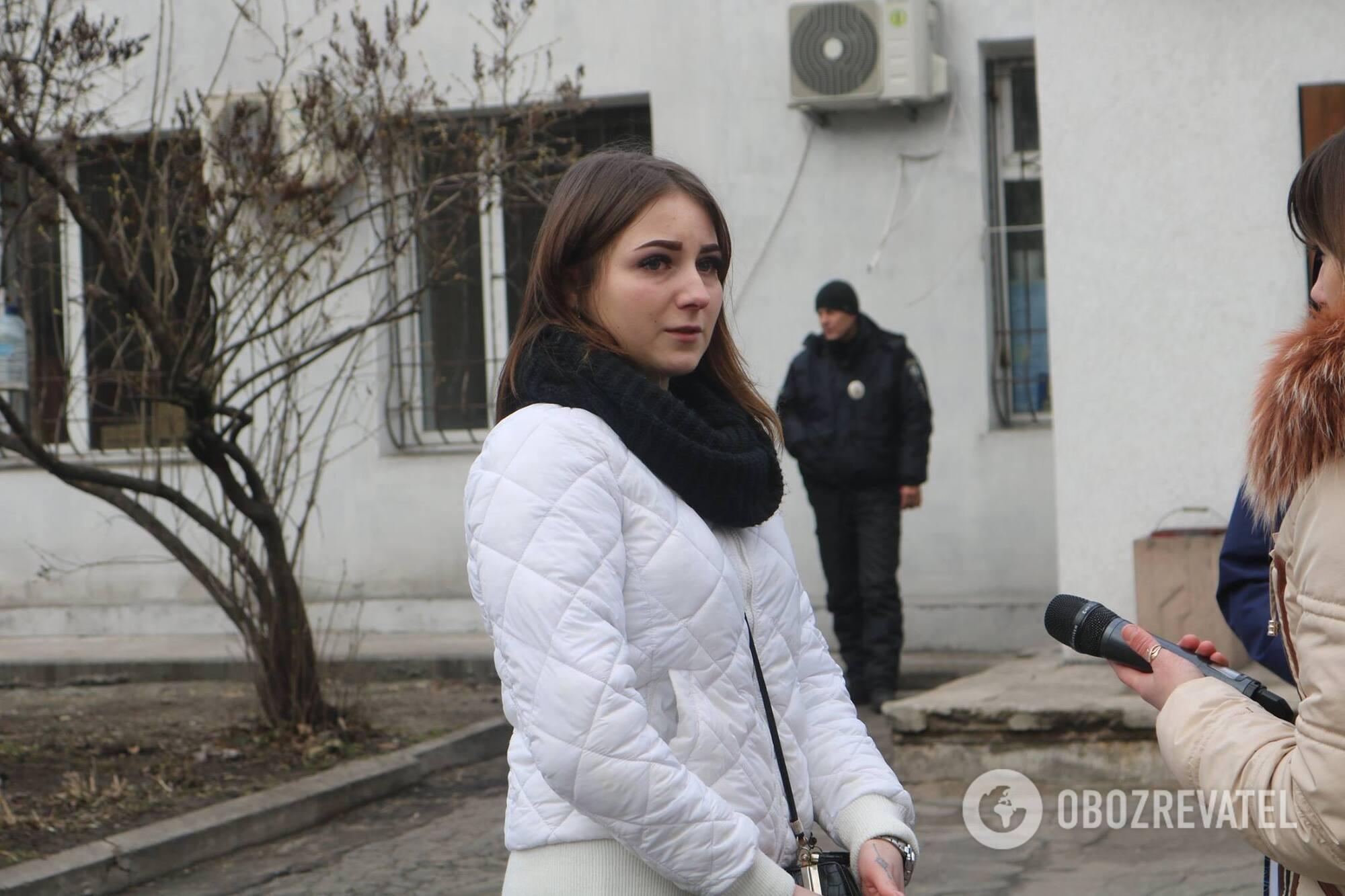 Ганна Губа розповіла журналістам про напад