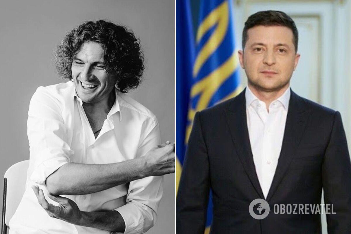 Зеленський присвоїв звання Героя України Кузьмі Скрябіну