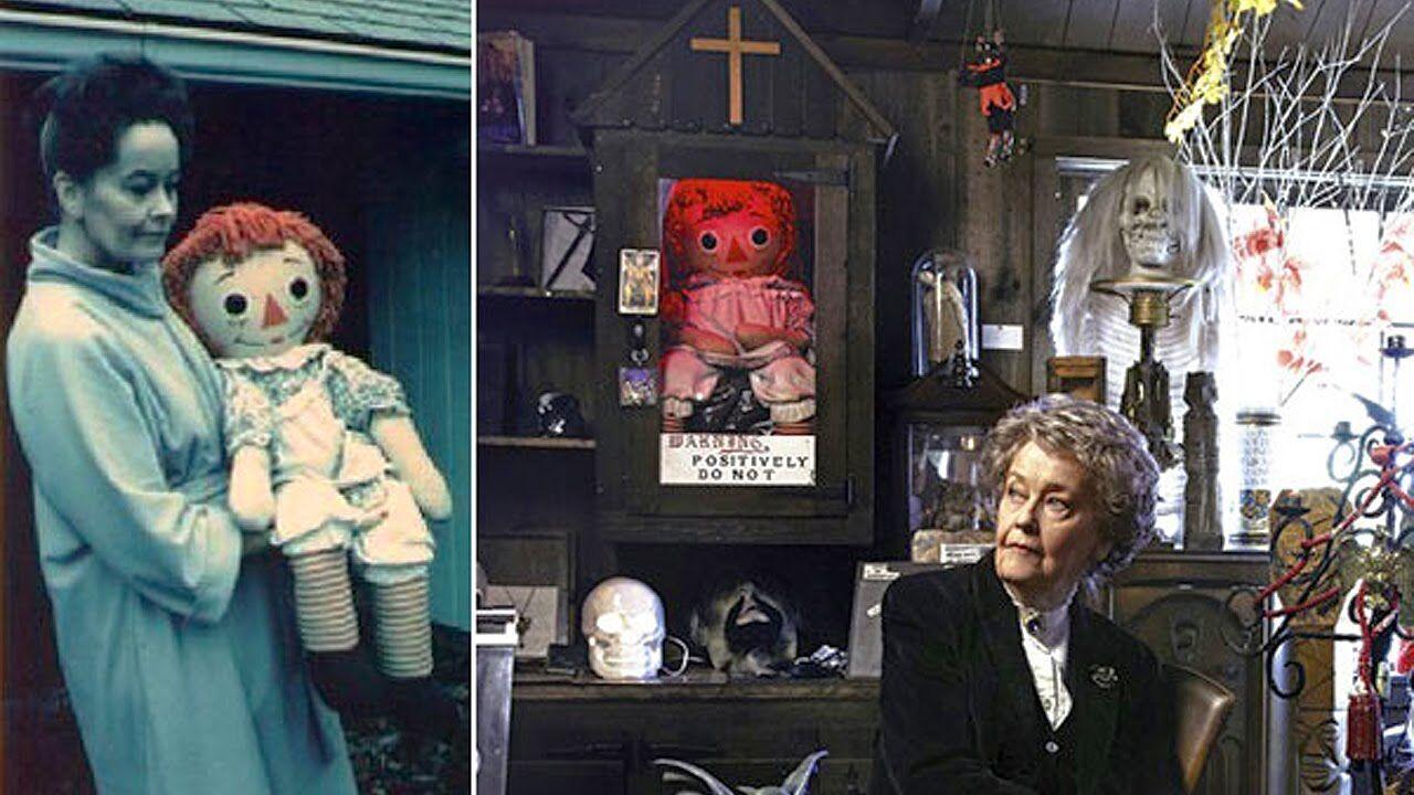 Лоррейн Уорен і лялька Аннабель