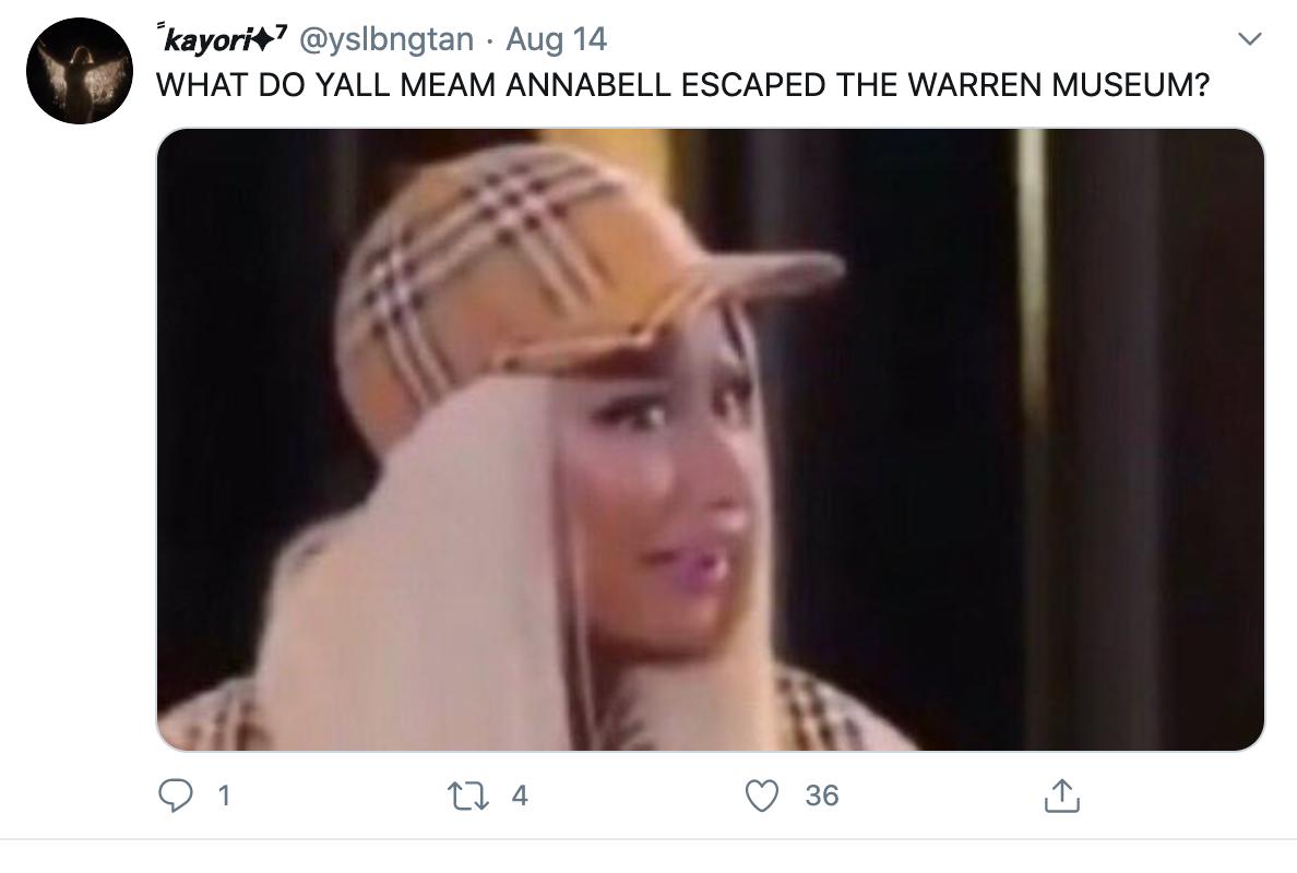 Лялька Аннабель нібито зникла з музею